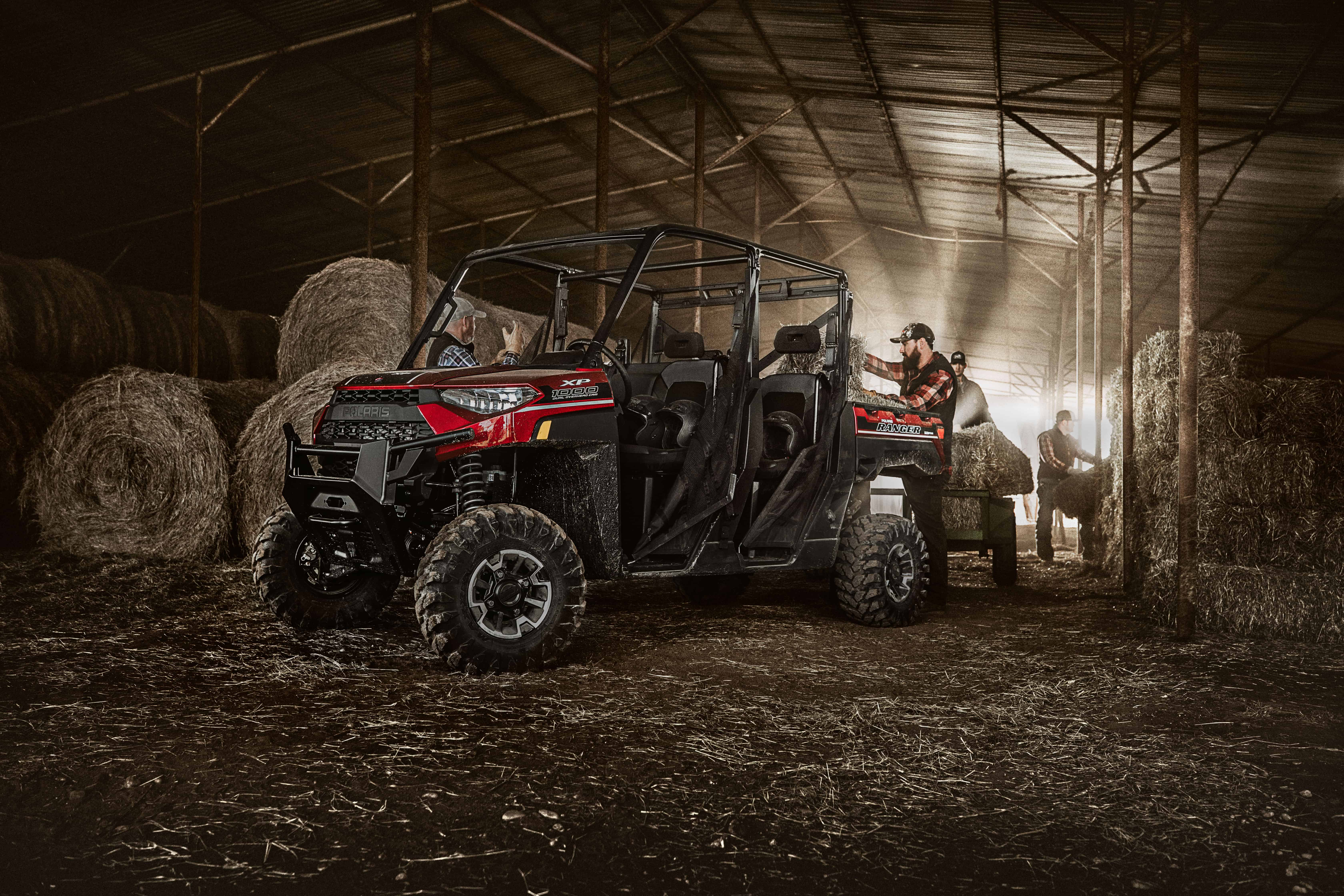 Polaris Side By Side >> 2019 Polaris RANGER CREW XP 1000 First Look!