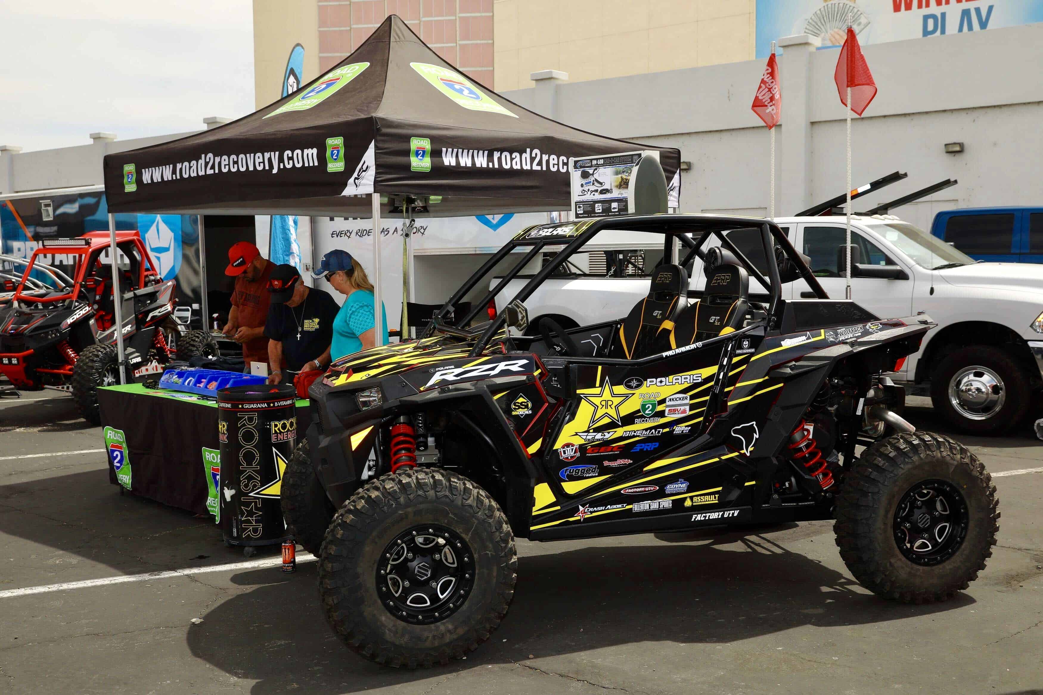 Road 2 Recovery Polaris RZR XP Turbo Sweepstakes