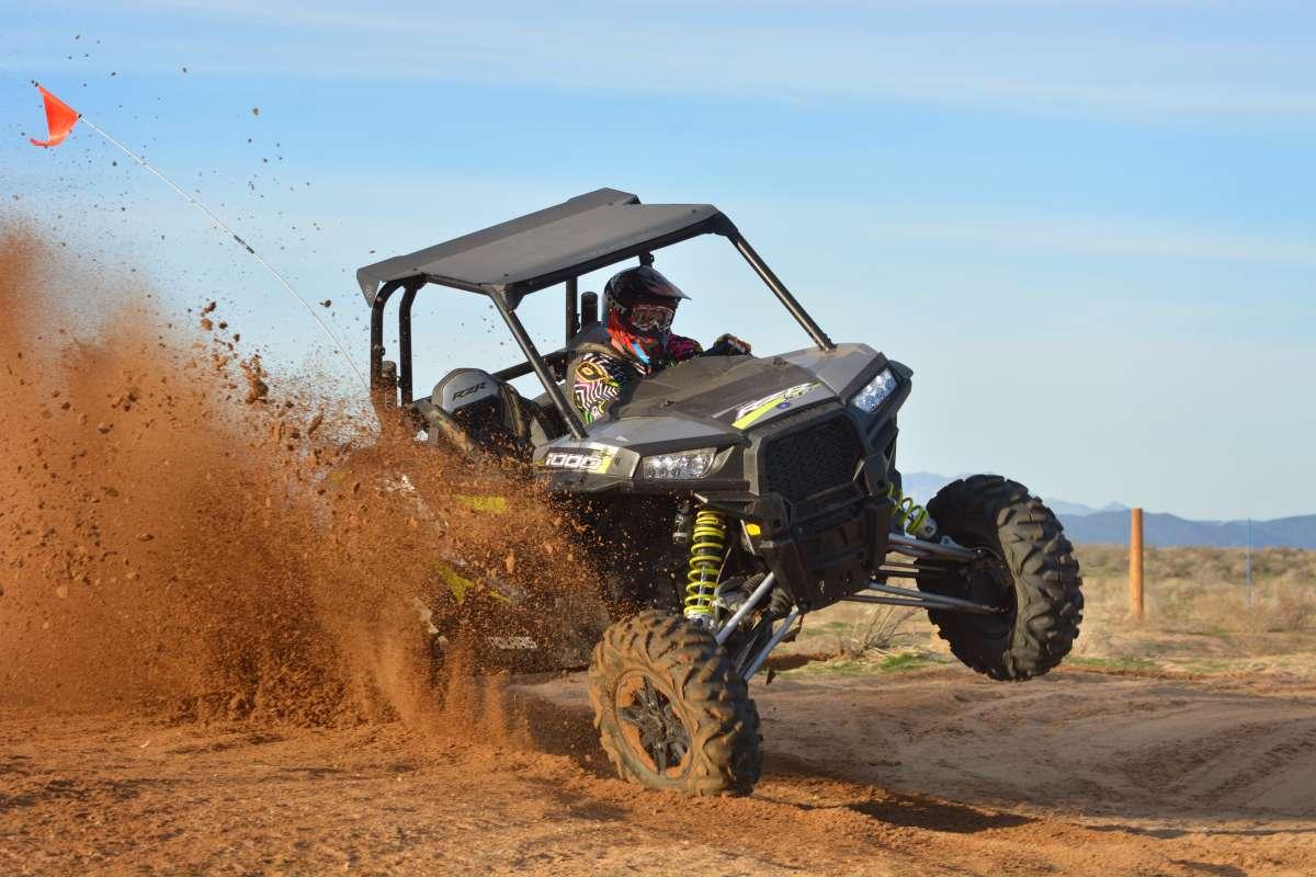 XP1000 Fox Edition Test - Racing For The Lead - UTV Sports