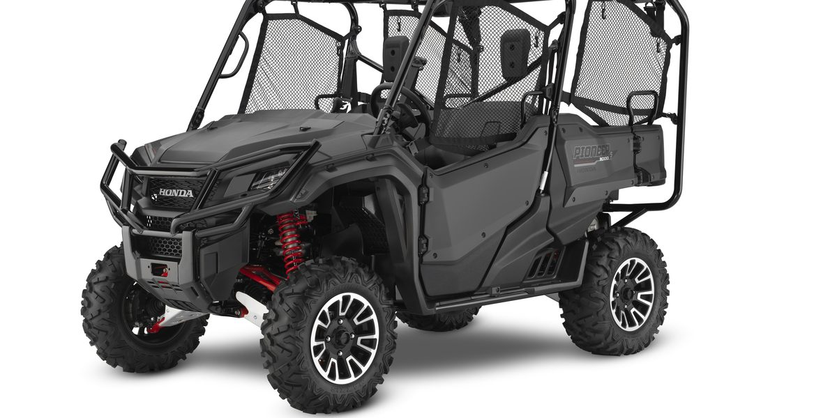 2018 Honda Pioneer 1000 & 700 - new models released! - UTV
