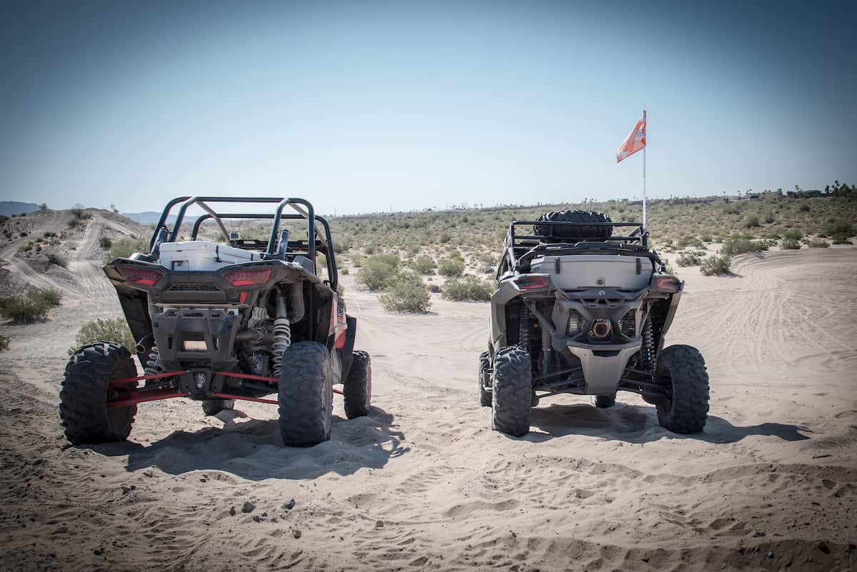 2017 Can-Am Maverick X3 MAX X DS takes on the 2017 Polaris