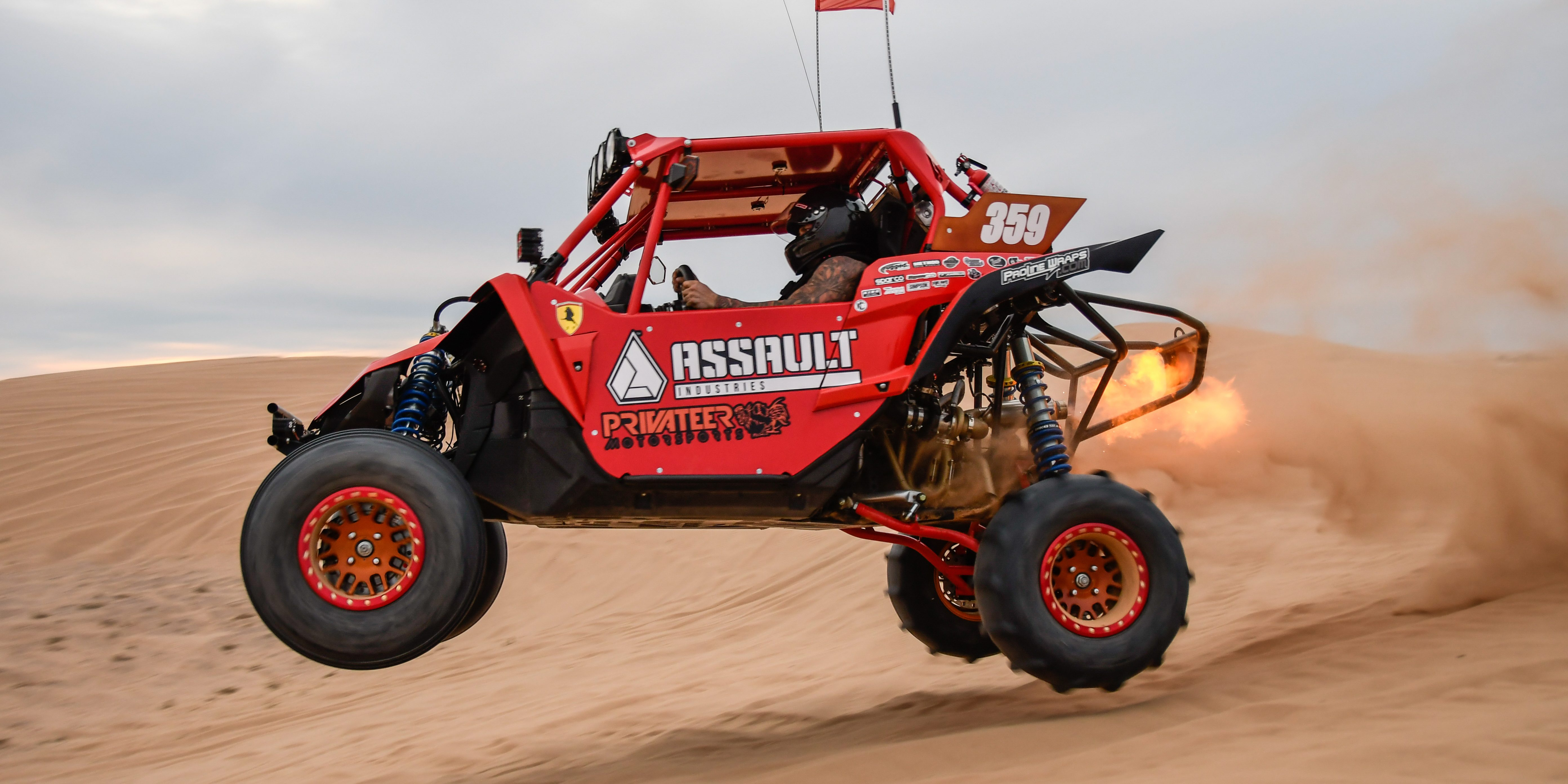 Performance overload privateer motorsports assault for Yamaha yxz1000r turbo