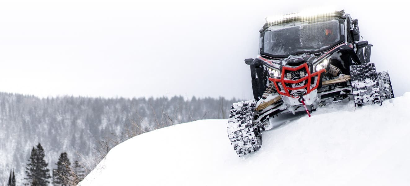 All New Apache Backcountry Lt Track Kits And Promount Plow