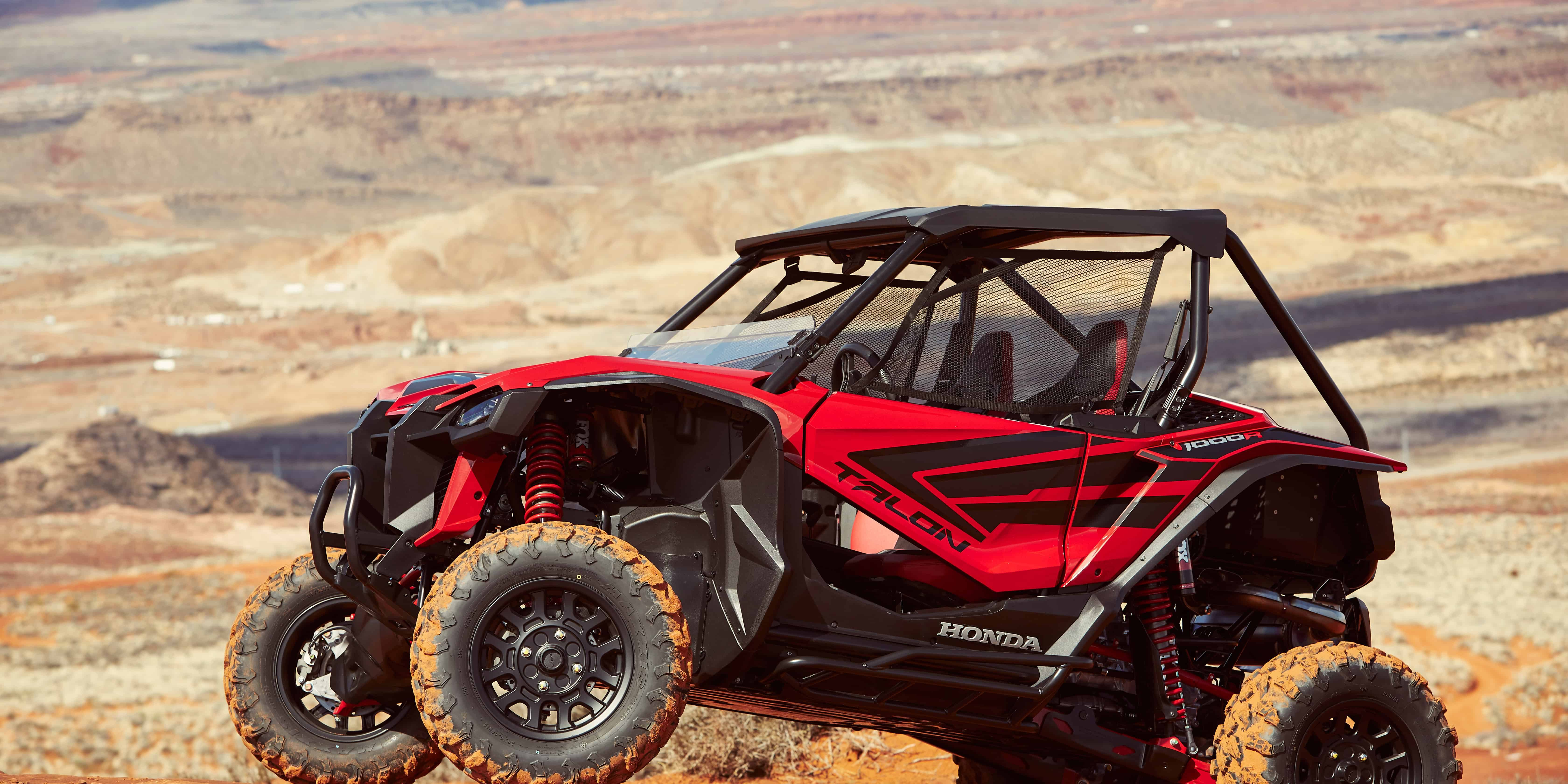 first ride  honda means business with the talon