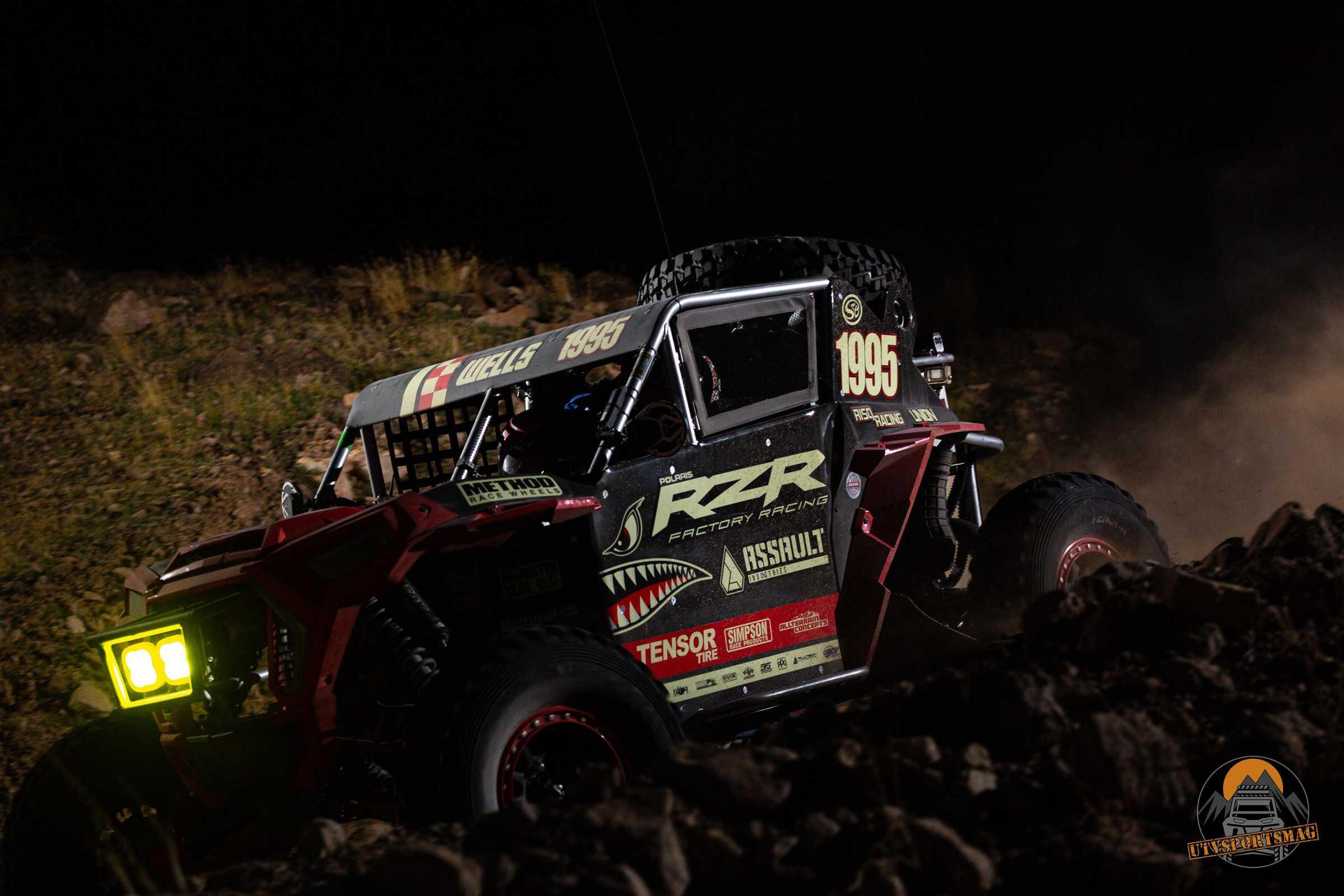Kaden Wells Polaris RZR Parker 250