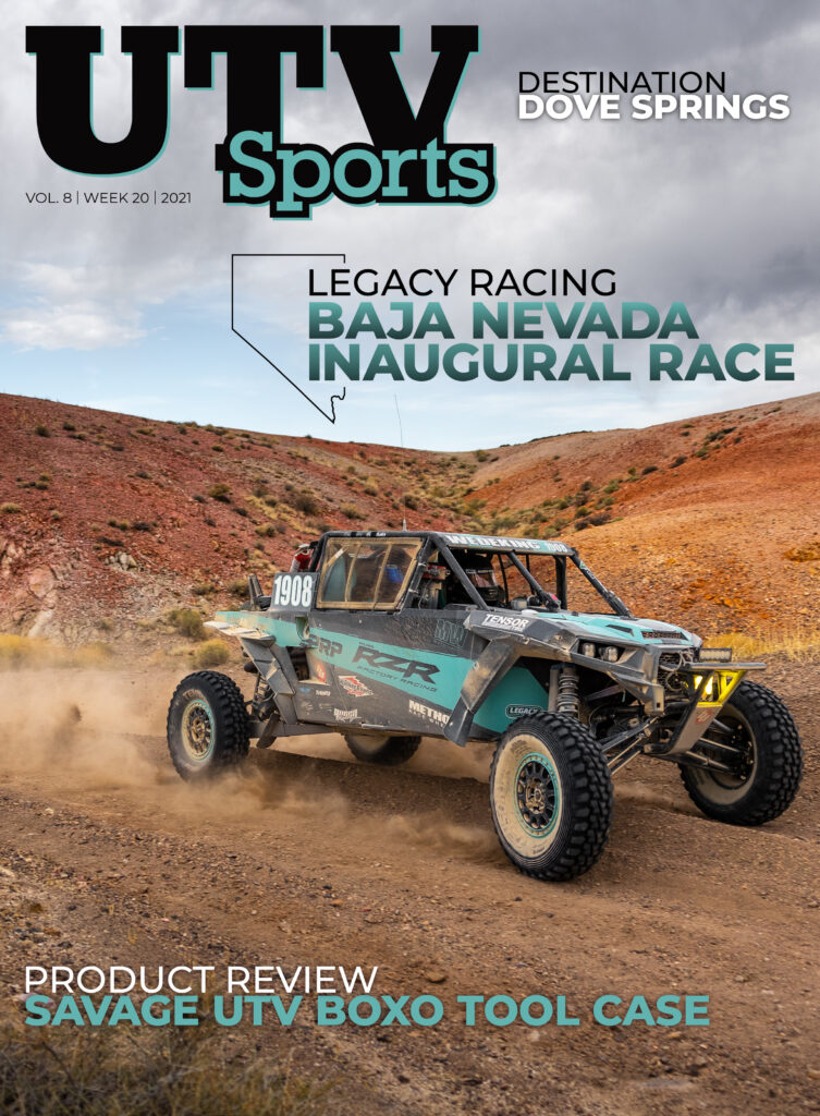 Legacy Racing Association Baja Nevada 2021 Week 20 Cover